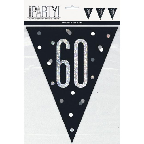 60 Flag Banner 9ft
