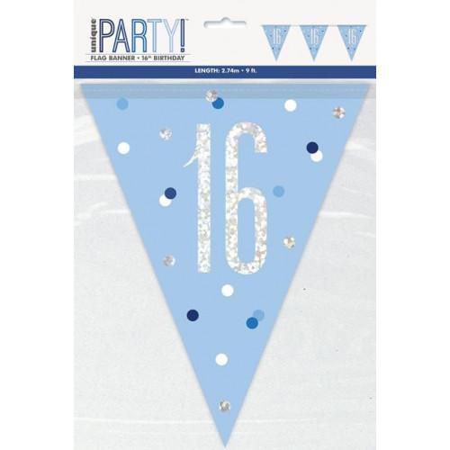 16 Flag Banner 9ft