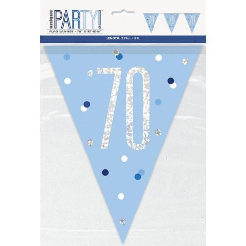 70 Flag Banner 9ft