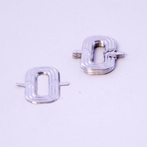 4Cm Silver Aluminium Letter O