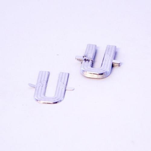4Cm Silver Aluminium Letter U