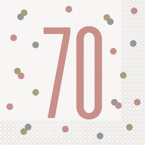 Pk16 Glitz 70 Lunch Napkin