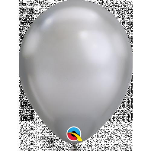 """7"""" Silver Chrome Latex"""