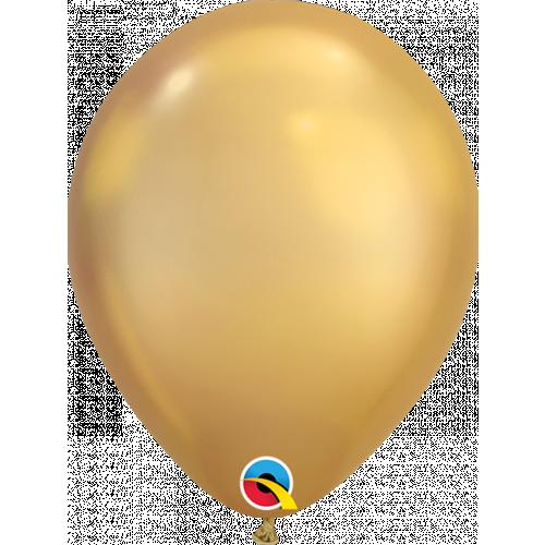 "7"" Chrome Gold Latex"