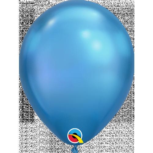 "7"" Chrome Blue Latex"