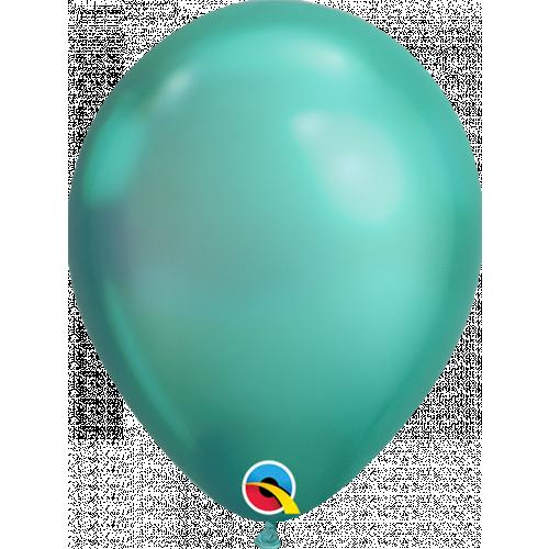 """7"""" Chrome Green Latex"""