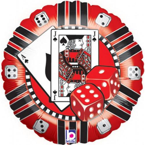"18"" Casino Chip"