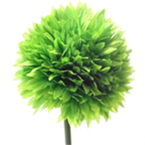 43Cm Single Spiky Chrysanthemum Green