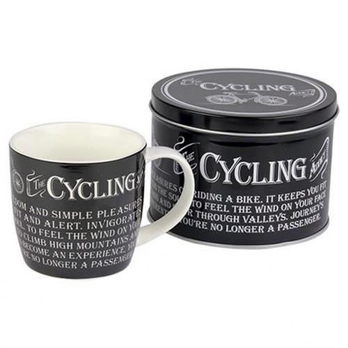 Cycling Mug & Tin