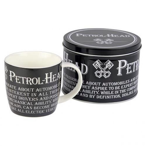 Petrol Head Mug & Tin