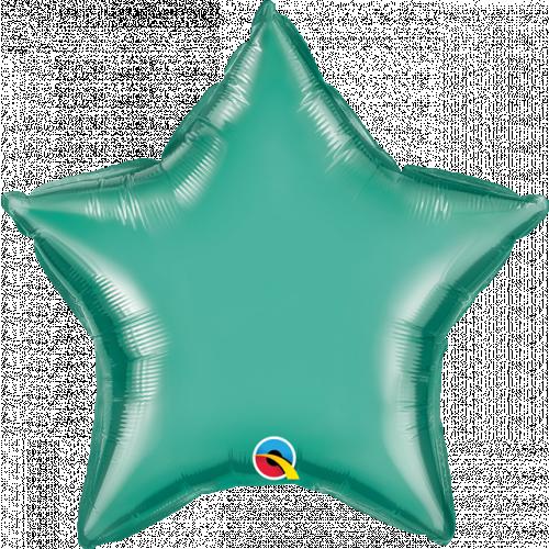 "20"" Chrome Plain Star Foil"