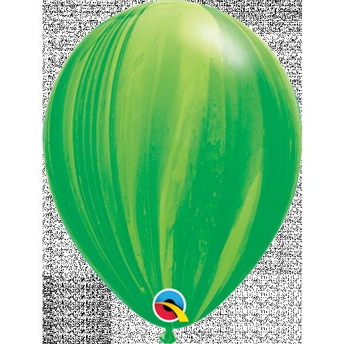 "11"" Green Agate Pk25"