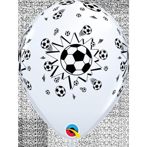 """11"""" White Pk25 Soccer Balls"""