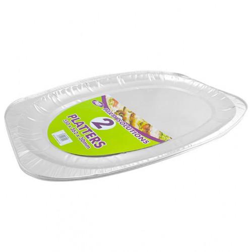 Large Foil Platters