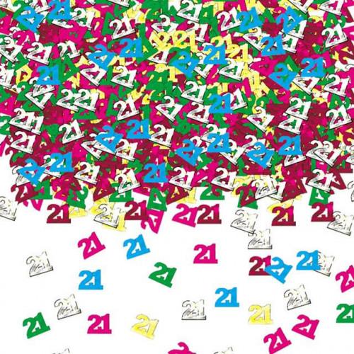 Age 21 Confetti