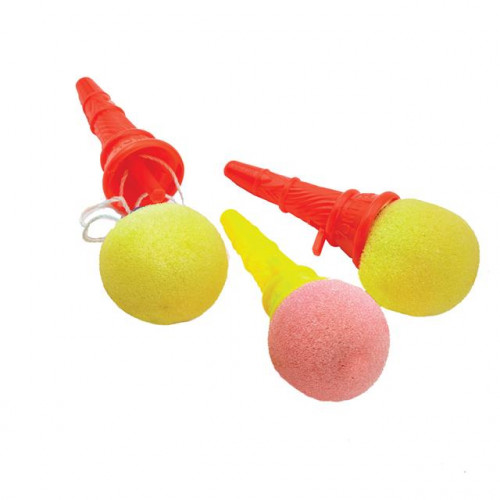 PARTY BAG FAVOUR ICE CREAM SPONGE POPPERS