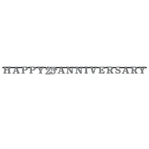 Silver Anniversary Banner