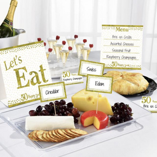 GOLD ANNIVERSARY BUFFET KIT