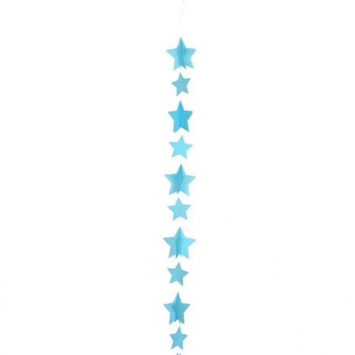 BALLOON TAIL-STAR BLUE 1.2M
