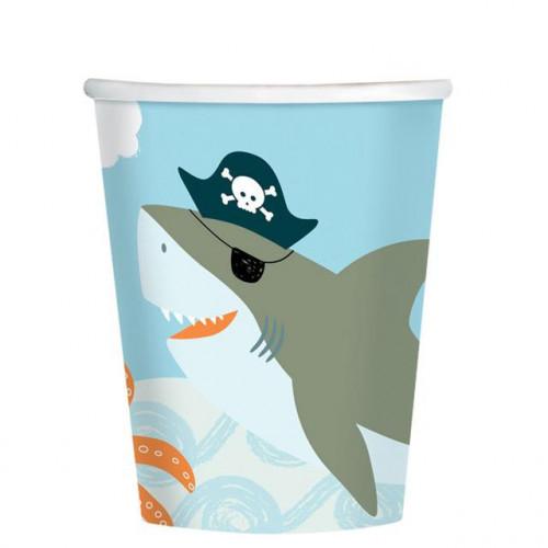 Ahoy Bday paper Cup 250ml