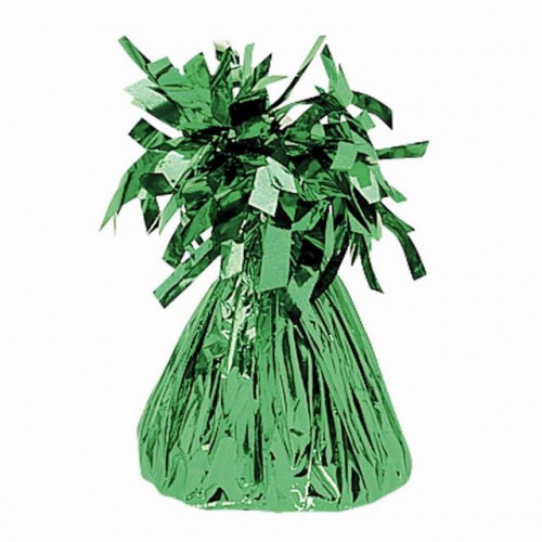 BALLOON WEIGHT FOIL GREEN 12 PIECES