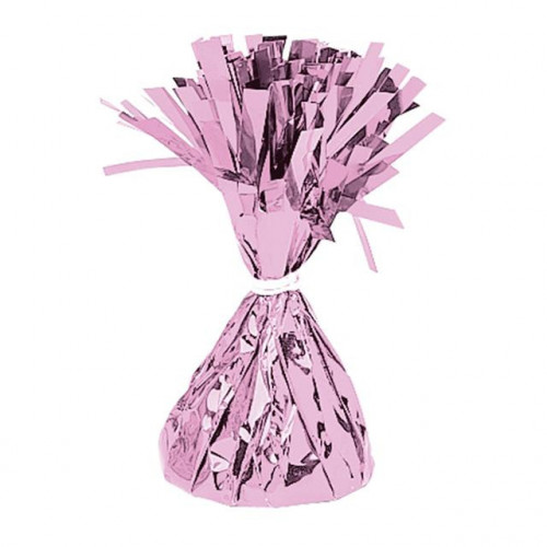 BALLOON WEIGHT FOIL PINK 12 PIECES