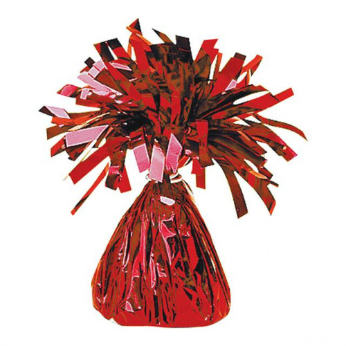 BALLOON WEIGHT FOIL RED 12 PIECES