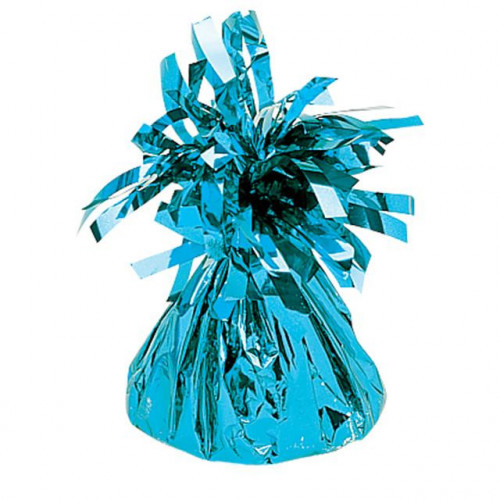 BALLOON WEIGHT FOIL BABY BLUE 12 PIECES