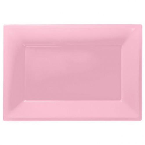 5 Plastic Platters