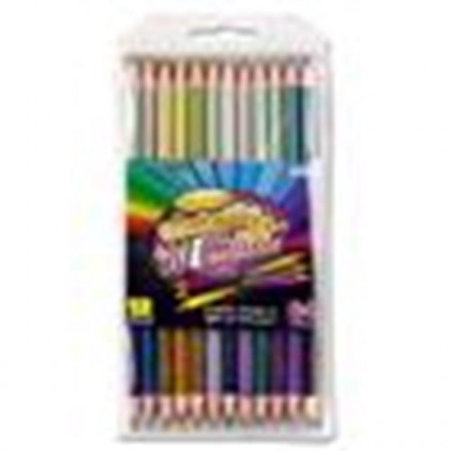 12 double headed colouring pencils