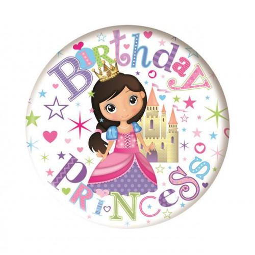 Princess Large Badge