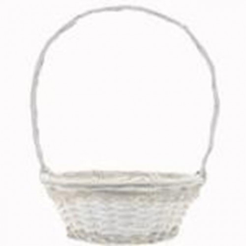 35.5Cm Round Victoria Basket With Handle
