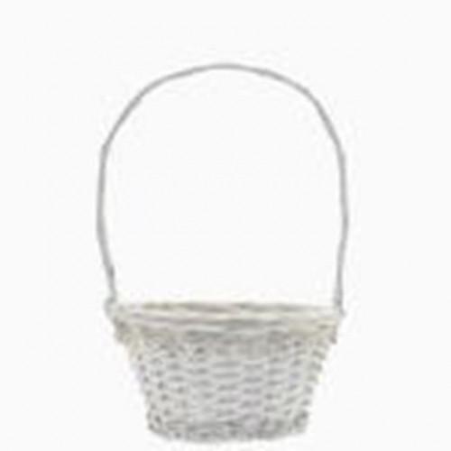 27.5Cm Round Victoria Basket With Handle