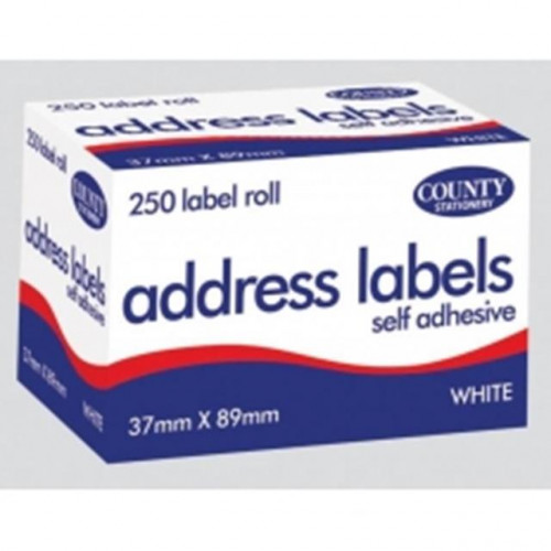 Address Labels 250 on a roll