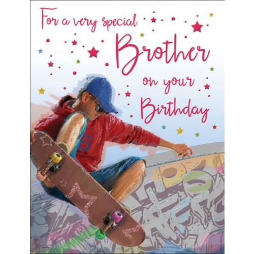 PK6 C55 CARDS Brother Skateboarding Special Thoughts NETT