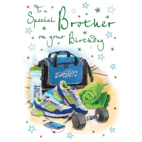 PK6 C75 CARDS Brother Gym kit 9 X 6 Cherished Moments NETT