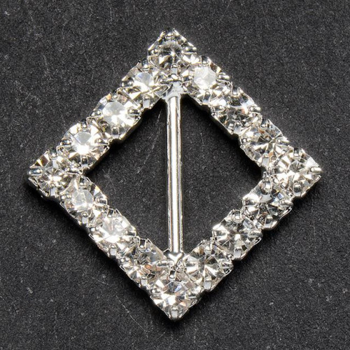 Ribbon Diamond Buckle