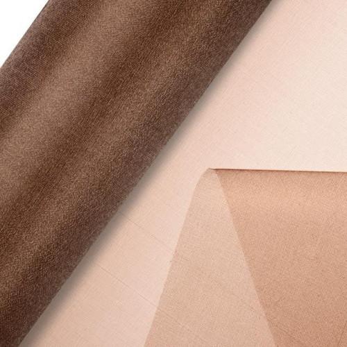 Organza Snow Sheer Roll 290Mmx25M Chocolate Brown