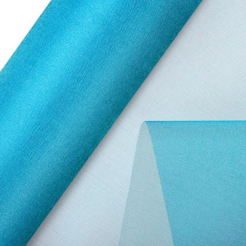 Organza Snow Sheer Roll 290Mmx25M Turquoise