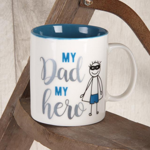 CELEBRATIONS MUG - DAD MY HERO