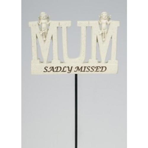 MumMemorial Stick 10X6Cm