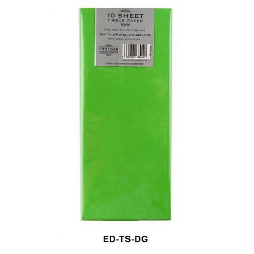 Dark Green Pk12 Tissue