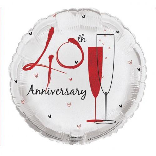 """18"""" Ruby Anniversary"""
