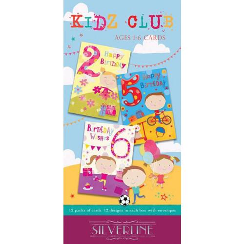 Children's Birthday C50 Pk144