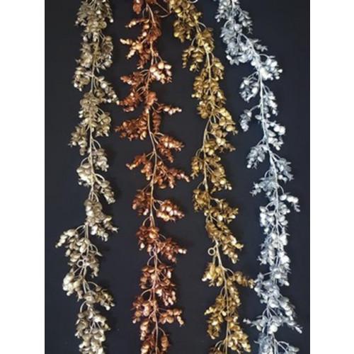 Glitter Eucalyptus Garland