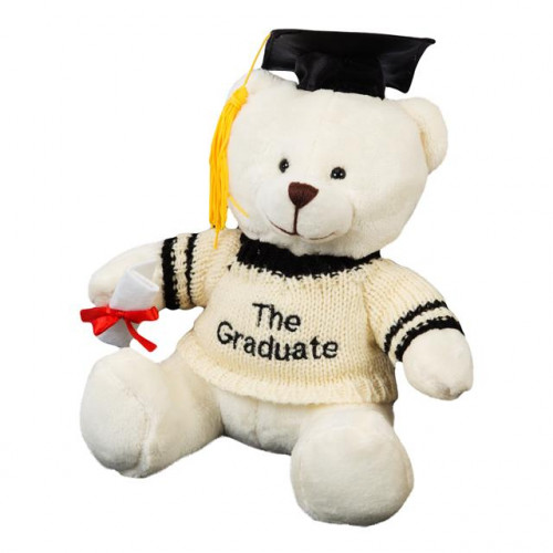 "GRADUATION PLUSH TEDDY 17"" - HAPPY GRADUATION"