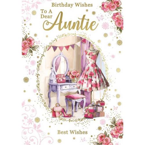PK6 C50 CARDS Auntie NETT