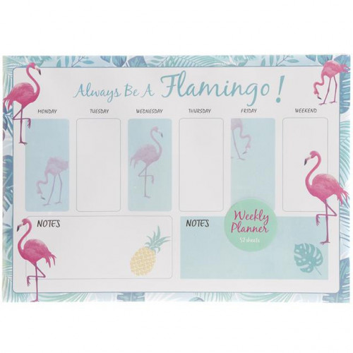 Flamingo Weekly Planner