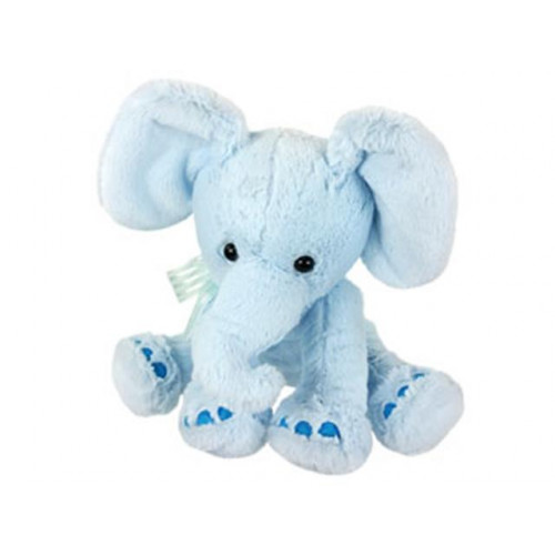 "Plush 10"" Blue Elephant"