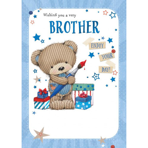 PK6 C50 CARDS BROTHER MALE CUTE NETT